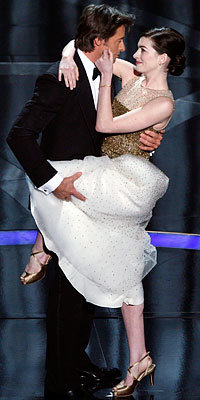 Hugh Jackman and Anne Hathaway, Stylish On-Stage Couples