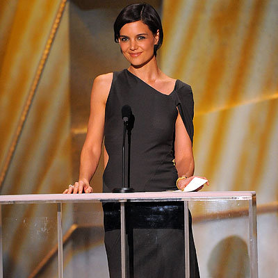Katie Holmes in Jil Sander, 2009 SAG Awards, Screen Actors Guild, Los Angeles