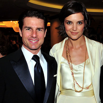 Best Parties of 2009 - Tom Cruise and Katie Holmes in Holmes-Yang - White House Correspondents' dinner - Washington, D.C.
