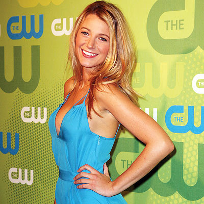 Blake Lively in ADAM, CW Upfront presentation, New York City, Gossip Girl