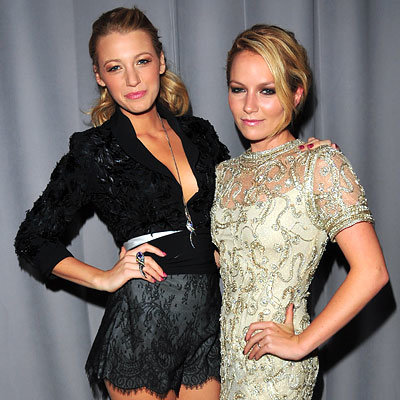 Blake Lively - Becki Newton - Marchesa - NY Fashion Week