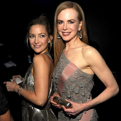 Kate Hudson and Nicole Kidman in Balenciaga - 2009 American Music Awards
