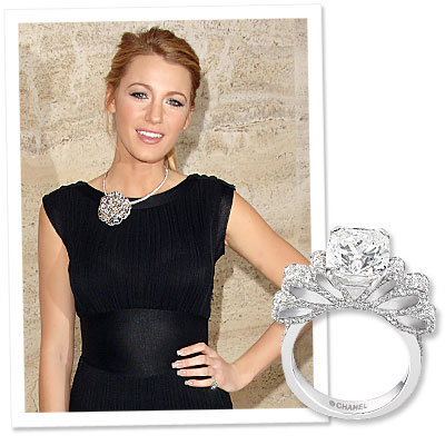 What's Right Now: Blake Lively's Show-Stopping Chanel Ring