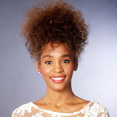 Whitney Houston - Transformation - hair and makeup