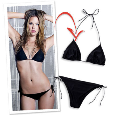 Bar Rafaeli, Hurley Bikini, What's Right now, Little Black Bikini