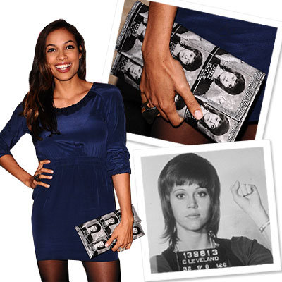 Jane Fonda - Designer News - Rosario Dawson - Stars Give Back