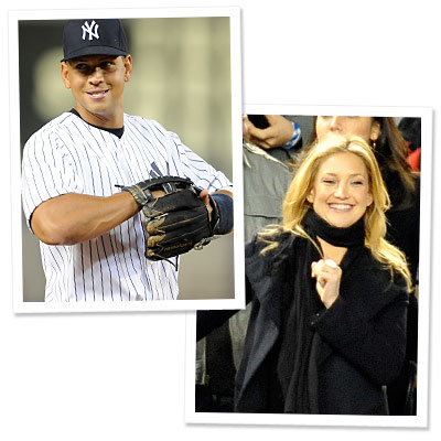 Alex Rodriguez - Kate Hudson - Yankees - Halloween