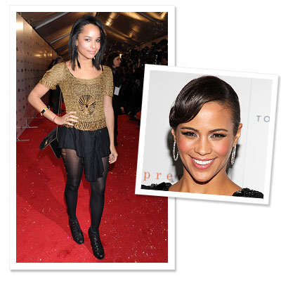 "Golden Globes - ""Who is Hollywood's Next Style Icon?"" - Paula Patton says Zoe Kravitz"