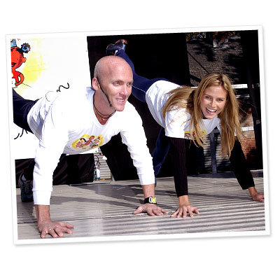 Celebrity Health and Fitness - David Kirsch - Heidi Klum