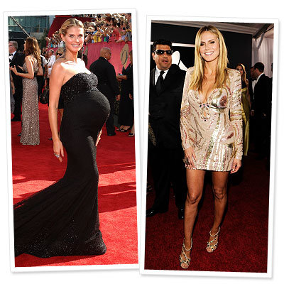 Heidi Klum - Star Bodies After Baby - Celebrity Health and Fitness