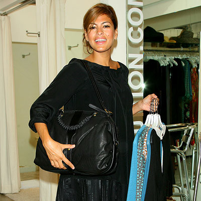 Eva Mendes - Shopping Tips