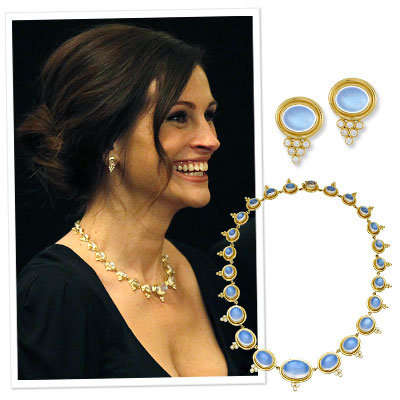 Julia Roberts - Temple St. Clair - Necklace - Earrings - Chic Piece of the Week