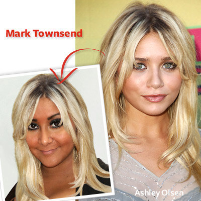 Snooki - Mark Townsend - Star Hairstylists Makeover Snooki