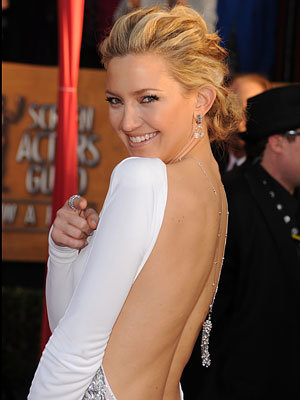 2010 Screen Actors Guild Awards - Kate Hudson in Emilio Pucci and Cartier