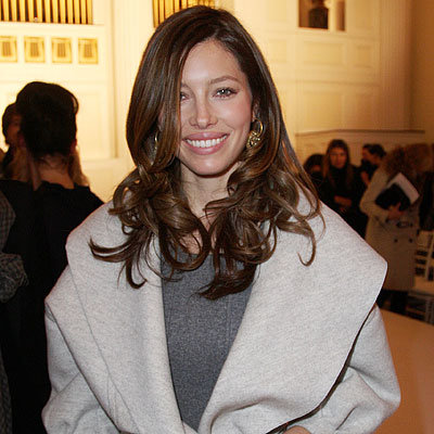 Fall 2010 Fashion Week - Jessica Biel at Oscar de la Renta