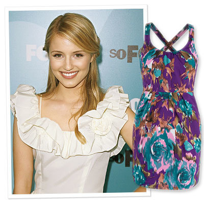 Star Q&A - Dianna Agron - What's Your Spring Fashion Must-Have?