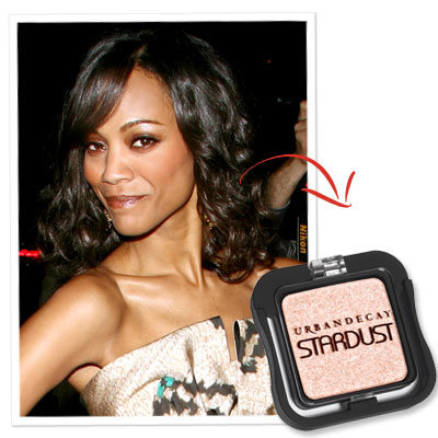 Zoe Saldana-Eye Shadow-Director's Guild Awards