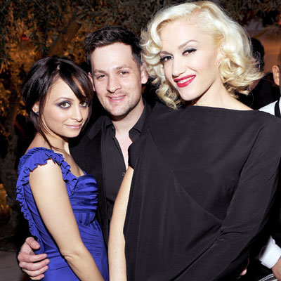 2010 Oscar Parties - Nicole Richie, Joel Madden and Gwen Stefani - Montblanc and The Weinstein Company Cocktail Party