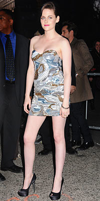Star Q&A Spring Accessories - Kristen Stewart - What is Your Go-To Shoe?