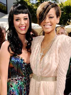 Katy Perry and Rihanna - The 2010 Kids Choice Awards