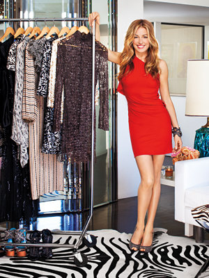 Inside Cat Deeley's Closet - Cat in RM by Roland Mouret
