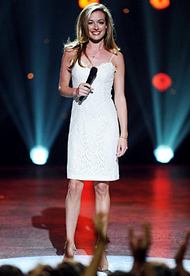 Cat Deeley's So You Think You Can Dance Season 7 Style - Vintage Dress