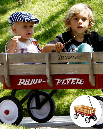 Get Your Kid a Celebrity Toy - Zuma and Kingston's Wagon