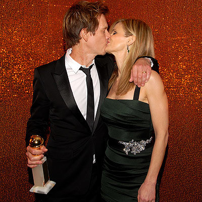 Kevin Bacon and Kyra Sedgwick - HBO Golden Globes After Party - Beverly Hills