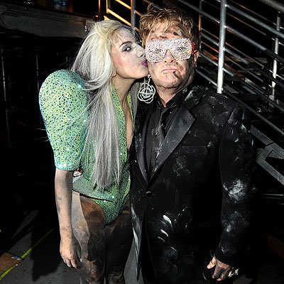 Grammys - Lady Gaga and Elton John - High Notes from the 2010 Grammy Awards
