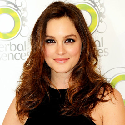 Leighton Meester - Herbal Essence - Madrid - hair