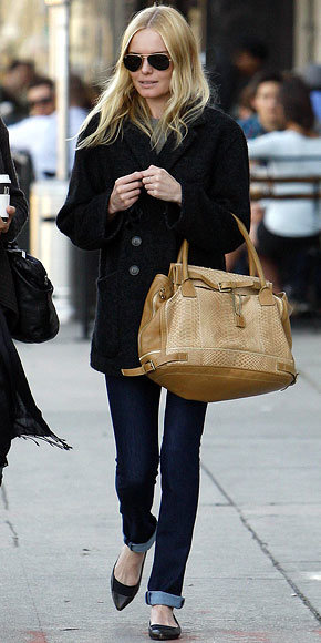 Kate Bosworth with a Chloe bag