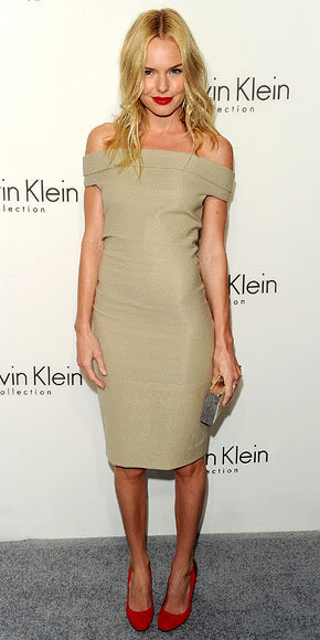 Kate Bosworth in Calvin Klein Collection