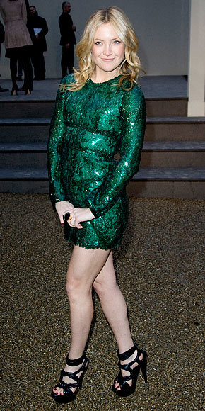 Kate Hudson in Burberry Prorsum