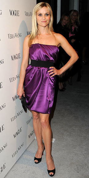Reese Witherspoon in Vera Wang