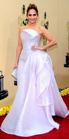 Jennifer Lopez in Armani Prive