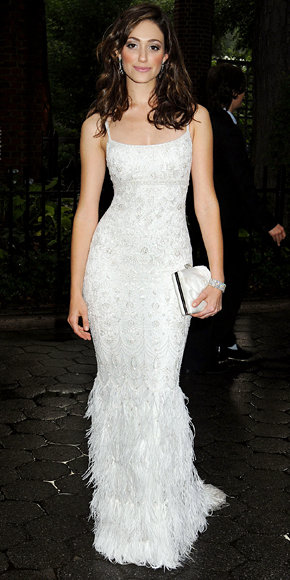 Emmy Rossum in Marchesa