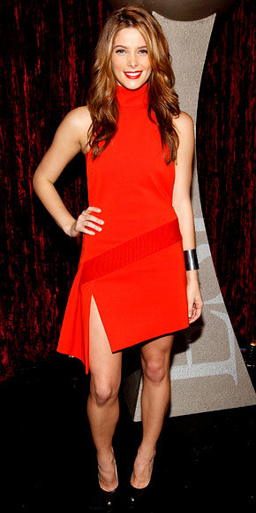 Ashley Greene in Versace