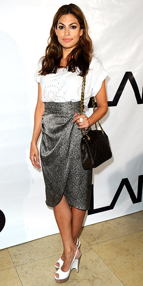Eva Mendes in 3.1 Phillip Lim