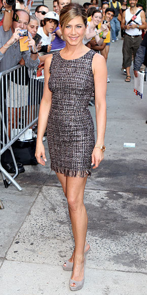 Jennifer Aniston in Dolce & Gabbana