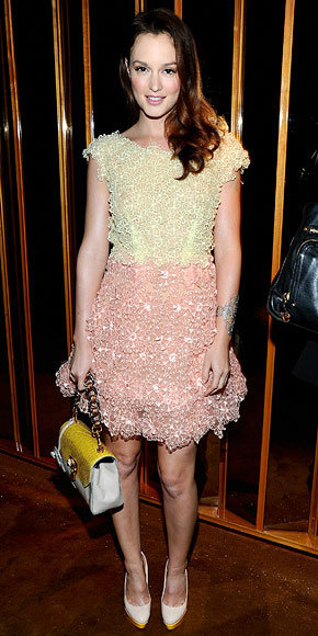 Leighton Meester in Marc Jacobs