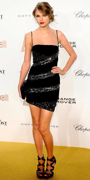 Taylor Swift in Roberto Cavalli