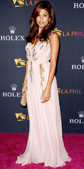 Eva Mendes in Christian Dior