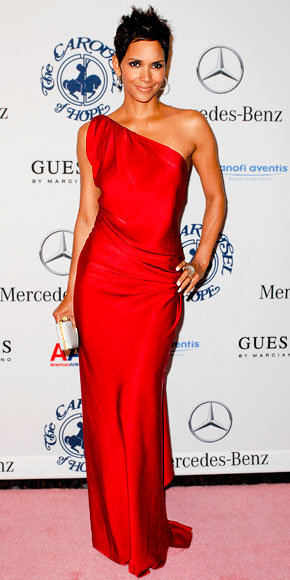 Halle Berry in YSL