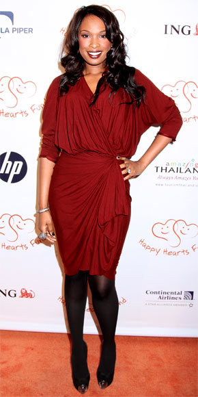 Jennifer Hudson in Lanvin