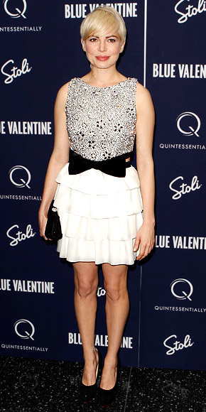 Michelle Williams in Azzaro