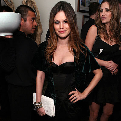 2010 Oscar Parties - Rachel Bilson - InStyle Oscar Viewing Party