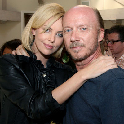Artists for Peace and Justice Benefit for Haiti - Paul Haggis and Charlize Theron