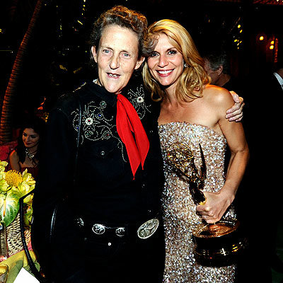 2010 Emmy Awards After-Parties - Temple Grandin and Claire Danes