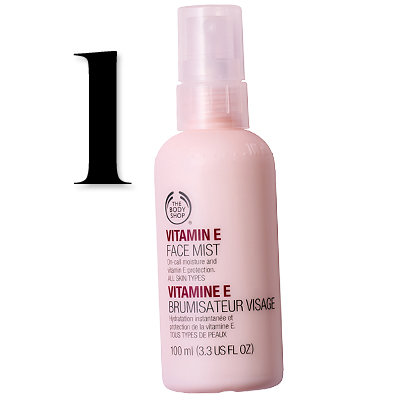 Body Shop's Vitamin E face mist