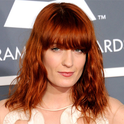 Florence Welch - Best Hair and Makeup - Grammy Awards 2011